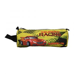 K2B Round Super Car Pencil Case