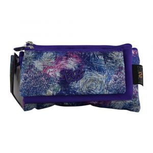 K2B Tripple Purple Pencil Case