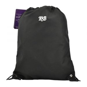 K2B Black String Bag