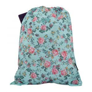K2B Green Flower String Bag