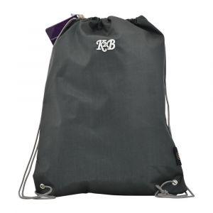 K2B Grey String Bag