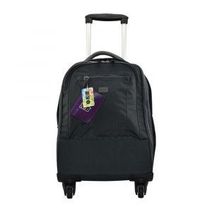 K2B 4 Wheel Grey Trolley Bag