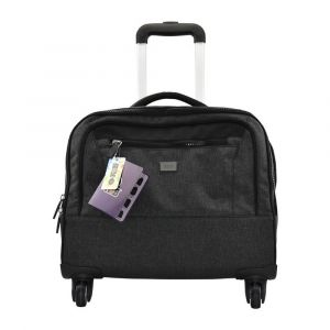 K2B Trolley Case 4 Wheel Grey Trolley Bag