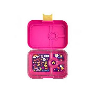 Yumbox Kawaii Pink 4 compartments Bento Lunch box