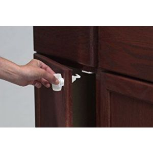 KidCo Child Safety Adhesive Mount Magnet Lock-4 Lock Set
