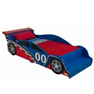 KidKraft - Racecar Toddler Bed - Red - Kids Toys