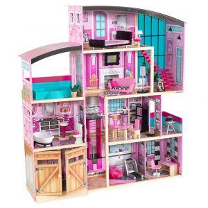 Kidkraft - Shimmer Mansion Dollhouse - Kids Toys