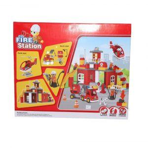 Sparkle n Shine Kids Home Fire Station Blocks
