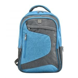 Kingwang-Italy Blue and Gray Backpack