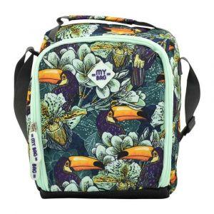 Kingwang-Italy Bird/Flower Lunch Bag