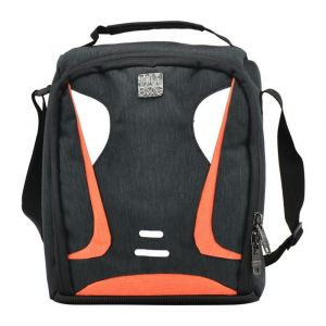 Kingwang-Italy Black and Orange Lunch Bag