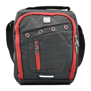 Kingwang-Italy Black and Red Lunch Bag