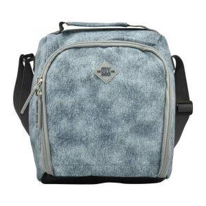 Kingwang-Italy Denim Gray Lunch Bag