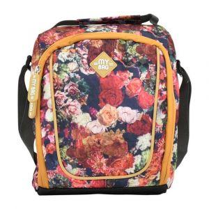 Kingwang-Italy Flower Lunch Bag