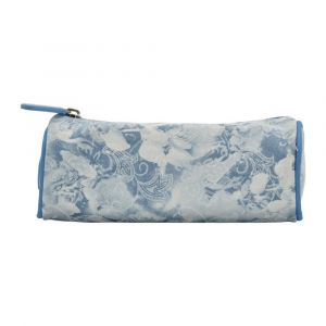 Kingwang-Italy Cream/Blue Pencil Case