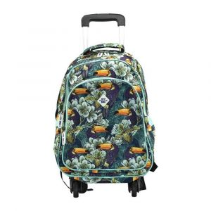 Kingwang-Italy 4 Wheel Bird/Flower Trolley Bag
