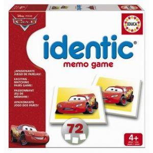 Educa Identic Cars Memory Game 72 cards