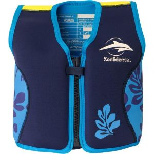 Konfidence Navy/Blue Children's Swim Jacket