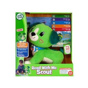 LeapFrog Green Read with Me, Scout, Soft Toy