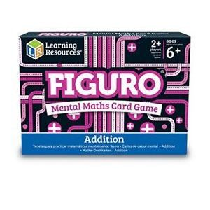 Learning Resources Figuro Mental Maths MatchAddition Card Game New