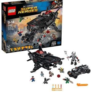 Lego Flying Fox: Batmobile Airlift Attack Block Toys