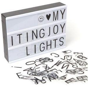 Letter Light Box - A4 - Kids Toys