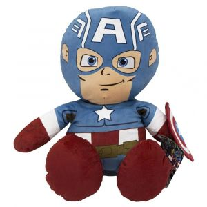"Lifung Marvel Plush Captain America Floppy 18"" Stuffed Toys"