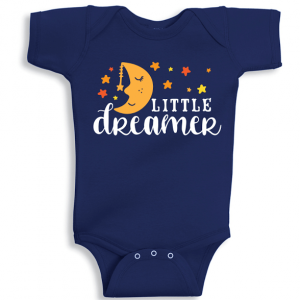 Twinkle Hands Little Dreamer Baby Onesie, Bodysuit, Romper