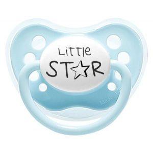 Littlemico Blue Little Star Pacifier 5M+