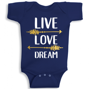 Twinkle Hands Love Live Dream Baby Onesie, Bodysuit, Romper