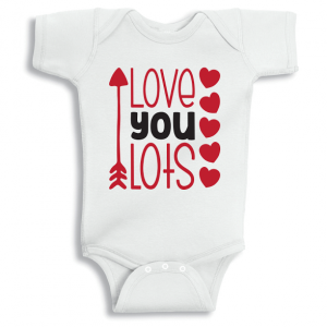 Twinkle Hands Love you lots Onesie, Bodysuit, Romper