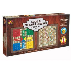 Toys Box Ludo Snakes And Ladder Premium Big