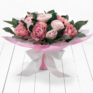 Baby Blooms Luxury Rose Bouquet - Pink