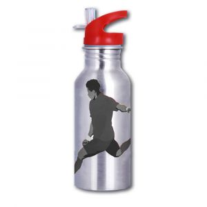 Magic Stainless Steel Football Player Bottle - 600ml