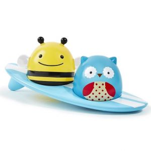 SkipHop Zoo Light-Up Surfers, Bath Toy