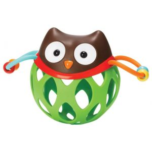 SkipHop Explore & More Roll Around Rattle, Owl