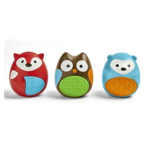 SkipHop - Explore & More Egg Shaker Rattles - Trio