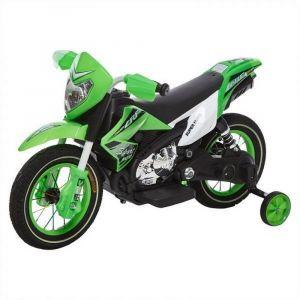 Megastar - Dirt Bike With Rubber Wheels - Green