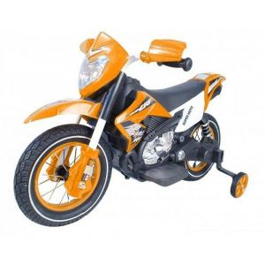Megastar - Dirt Bike With Rubber Wheels - Orange