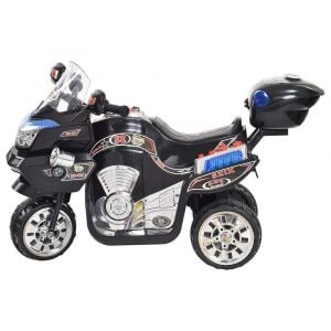 Megastar - Ride On Trike With Carry Box - Black