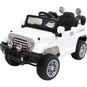 Megastar - Ride On Wrangler Style Jeep - White