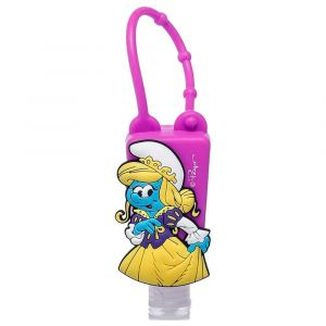 Smurfs No Alcohol Hand Sanitizer with Silicone Holder Lavender 30ml