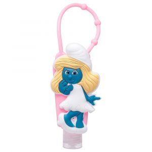 Smurfs No Alcohol Hand Sanitizer with Silicone Holder Pink 30ml