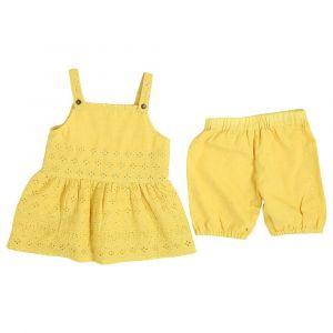 Mimmas World Hakoba Bloomer Set - Yellow