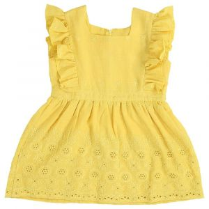 Mimmas World Hakoba Eva Dress- Yellow