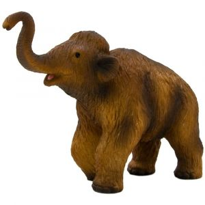 MOJO Animal Figurine Toy - Woolly Mammoth Calf Medium