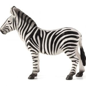 MOJO Animal Figurine Toy - Zebra