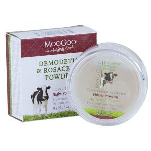 MooGoo Demodetic Rosacea Night Powder