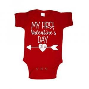 My First Valentine's Day Onesie