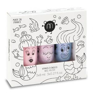 Nailmatic Kids Mermaid3 Bella/Elliot/Merlin - Nail Polish